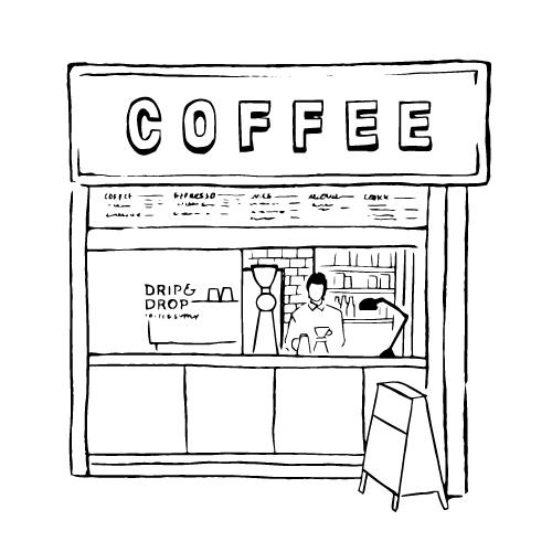 DRIP&DROP COFFEE SUPPLY 蛸薬師店